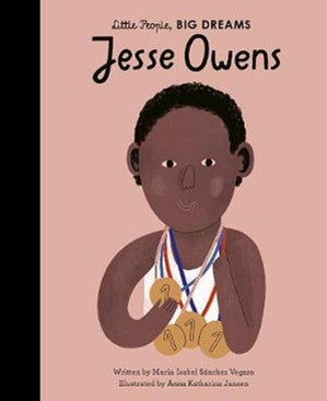 Little People Big Dreams Hardcover - Jessie Owens
