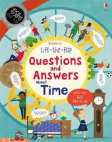 Board Book - Usborne Lift the Flap Questions and Answers - About Time