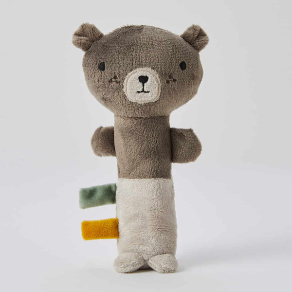 Pilbeam Plush Rattle - Bailey Bear