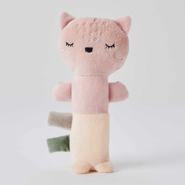 Pilbeam Plush Rattle - Fleur Cat