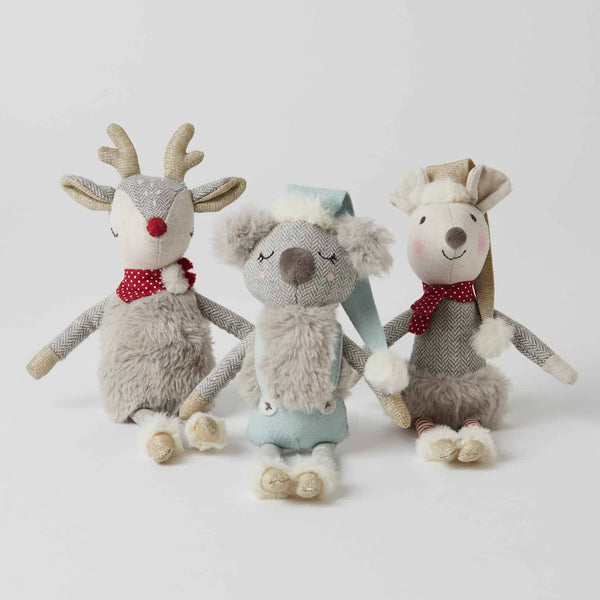 Pilbeam - Christmas Plush Rattles