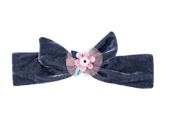 Billy Loves Audrey Head Band - Magic Flower Velvet