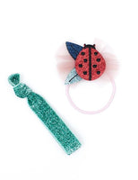 Billy Loves Audrey Hair Elastic Pack - Ladybug