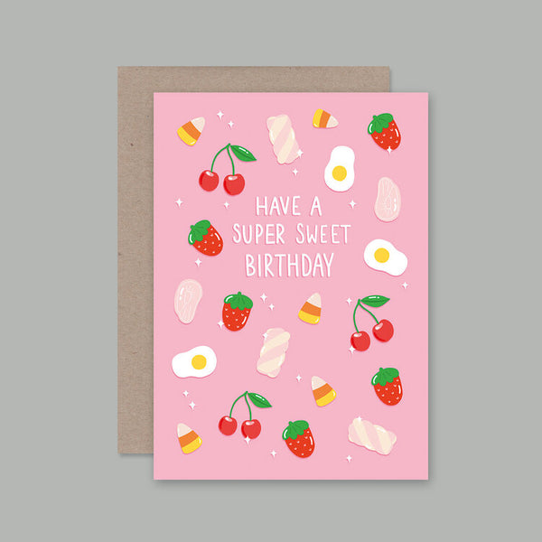Ahd Paper Co - Sweet Birthday