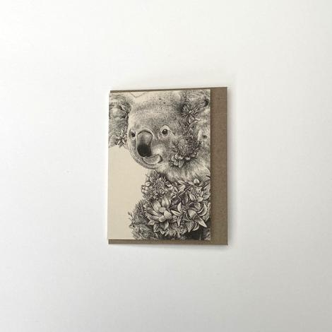 Marini Ferlazzo Small Greeting Card - Koala