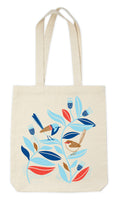 Earth Greetings Tote Bag - Peaceful Wrens