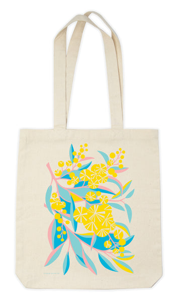 Earth Greetings Tote Bag - Wattle Walk