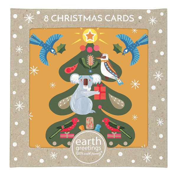 Earth Greetings Christmas Card Pack - Tree of Light