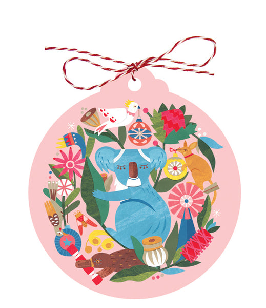 Earth Greetings Christmas Gift Tags - Circle of Friends