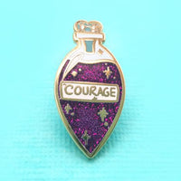Jubly Umph Lapel Pin - Elixir of Courage