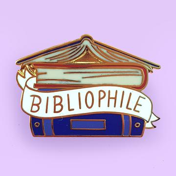 Jubly Umph Lapel Pin - Bibliophile