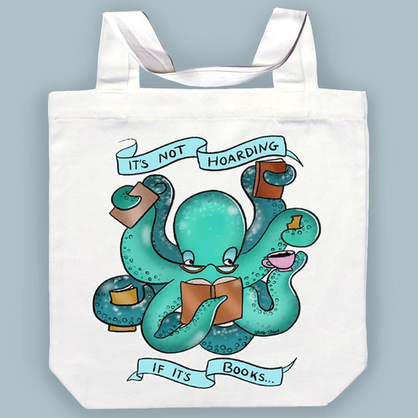 Jubly Umph Tote Bag - It's Not Hoarding If It's Books