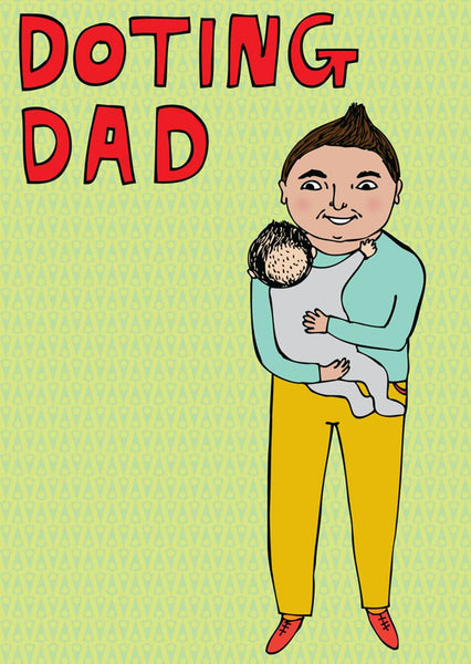 Able & Game - Father's Day Card - Doting Dad