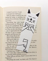 Little Paper House Press Bookmark - Cat