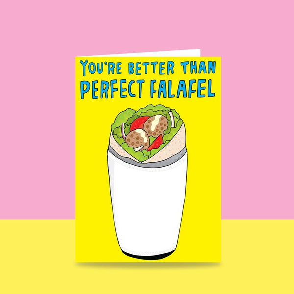 Able & Game - You're Better Than Perfect Falafel