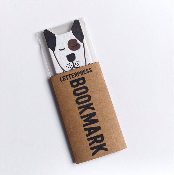 Little Paper House Press Bookmark - Dog