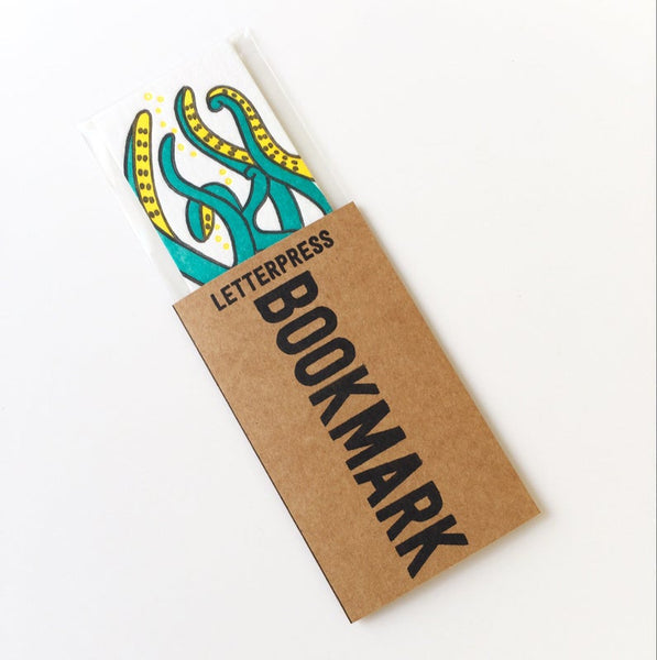 Little Paper House Press Bookmark - Octopus