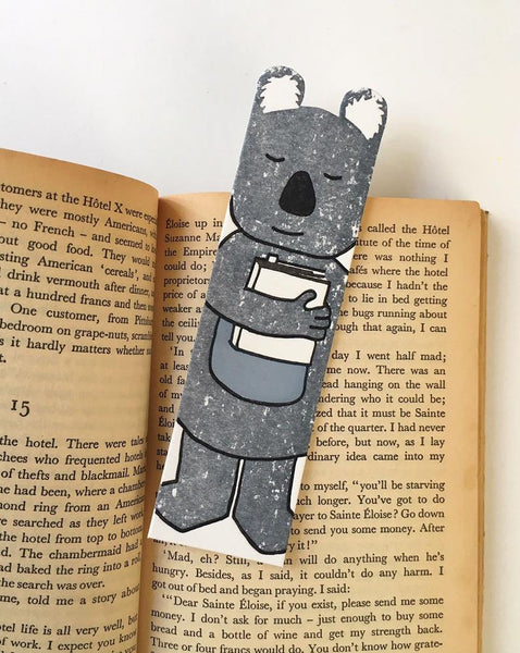 Little Paper House Press Bookmark - Koala