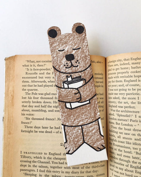 Little Paper House Press Bookmark - Bear