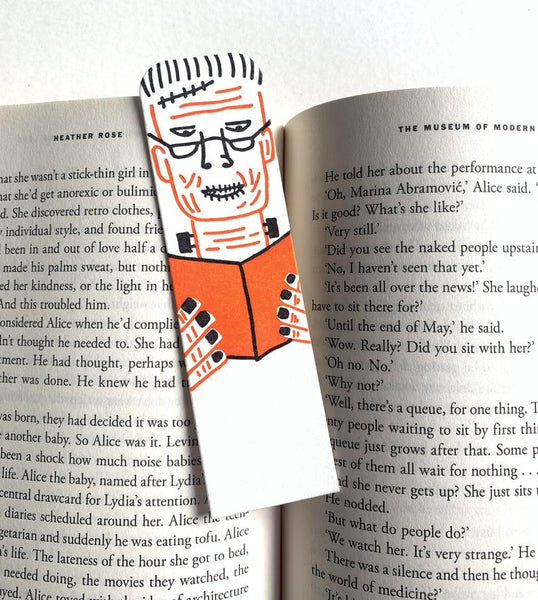 Little Paper House Press Bookmark - Frankenstein