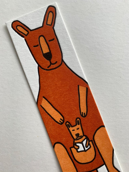 Little Paper House Press Bookmark - Kangaroo