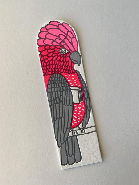 Little Paper House Press Bookmark - Galah