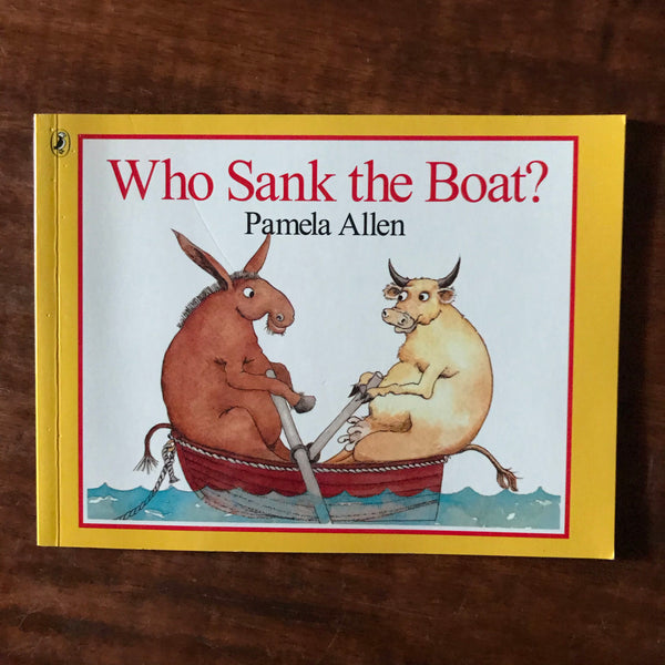Kids Mini Book Collection - Allen, Pamela - Who Sank the Boat (Paperback)