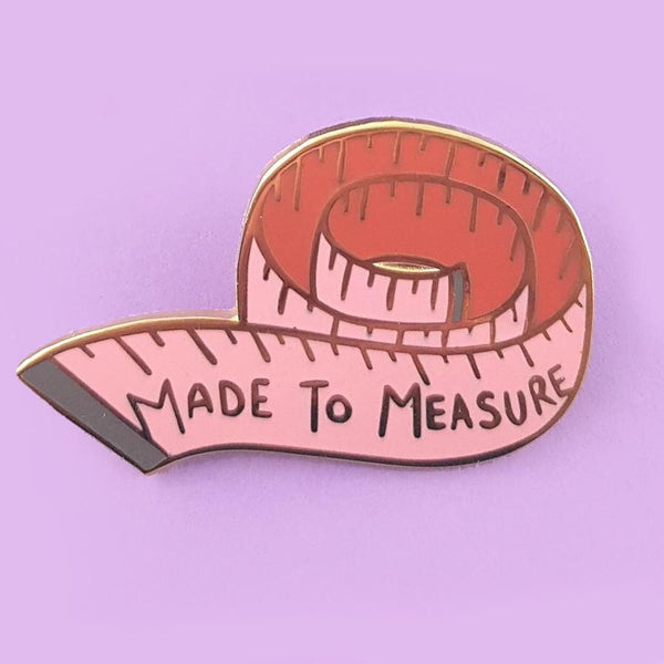 Jubly Umph Lapel Pin - Made to Measure