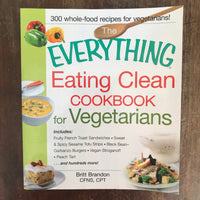 Brandon, Britt - Eating Clean Cookbook for Vegetarians (Paperback)