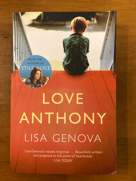 Genova, Lisa - Love Anothony (Paperback)