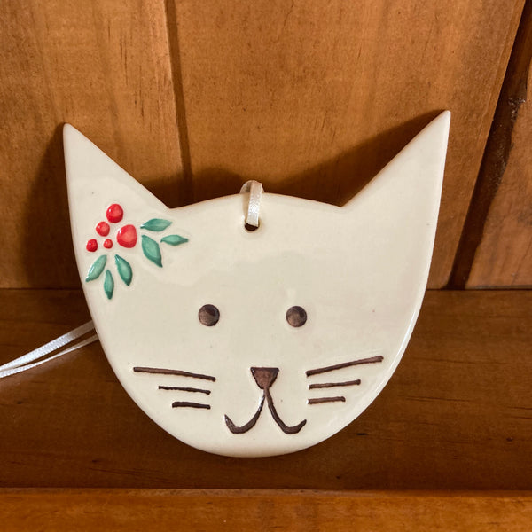 Paper Boat Press Christmas Cat Decoration