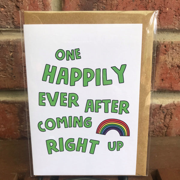 Things By Bean - One Happily Ever After Coming Right Up