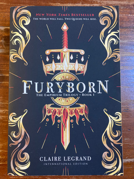 Legrand, Claire - Empirium 01 Furyborn (Trade Paperback)