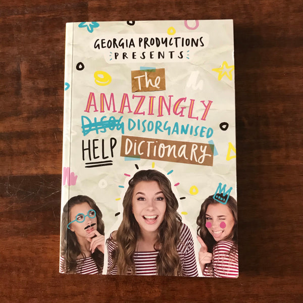 Georgia Productions - Amazingly Disorganised Help Dictionary  (Paperback)