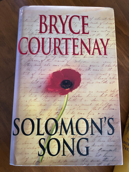 Courtenay, Bryce - Solomon's Song (Hardcover)