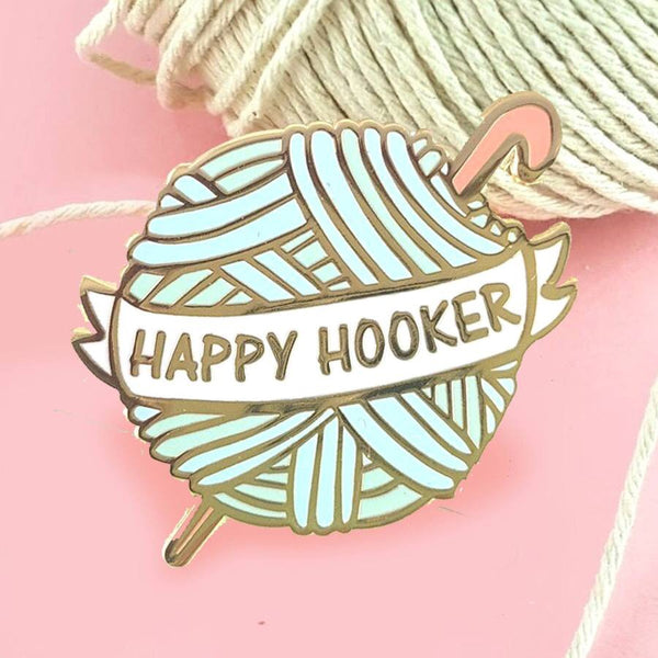 Jubly Umph Lapel Pin - Happy Hooker