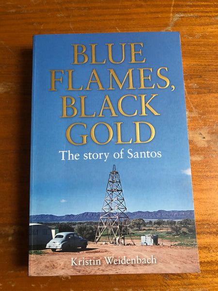 Weidenbach, Kristin - Blue Flames Black Gold (Trade Paperback)