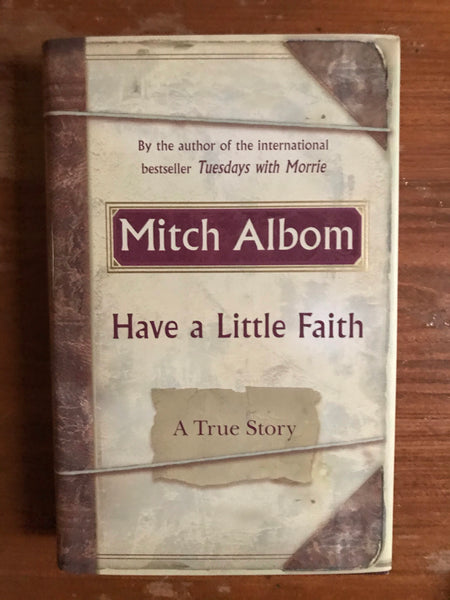 Albom, Mitch - Have a Little Faith (Hardcover)