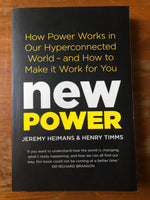 Heimans, Jeremy - New Power (Trade Paperback)