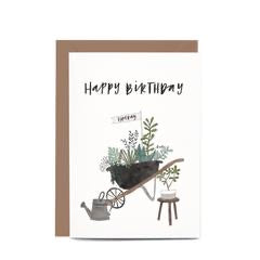 In the Daylight Greeting Card - Wheelbarrow
