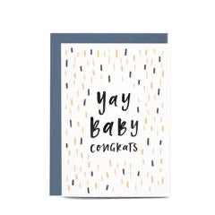 In the Daylight Greeting Card - Yay Baby