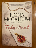 McCallum, Fiona - Finding Hannah (Trade Paperback)