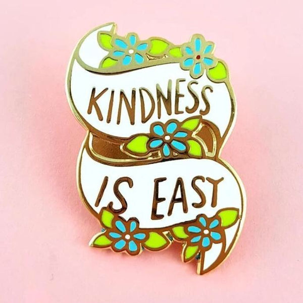Jubly Umph Lapel Pin - Kindness is Easy