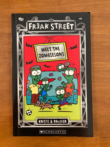 Knife and Packer - Freak Street Meet the Zombiesons (Paperback)