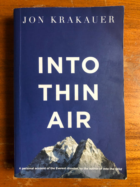 Krakauer, Jon - Into Thin Air (Paperback)