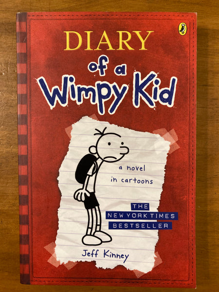 Kinney, Jeff - Diary of a Wimpy Kid (Paperback)