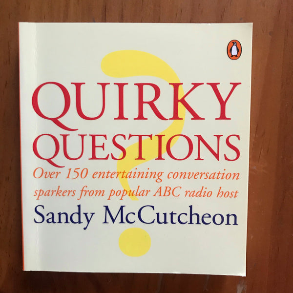 McCutcheon, Sandy - Quirky Questions (Paperback)