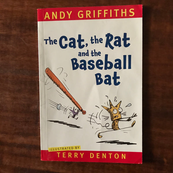 Griffiths, Andy - Cat the Rat and the Baseball Bat (Paperback)