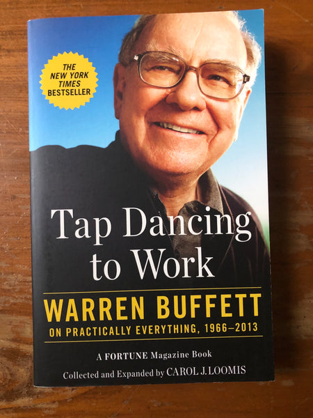 Buffett, Warren - Tap Dancing to Work (Paperback)
