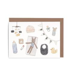 In the Daylight Greeting Card - Baby Items